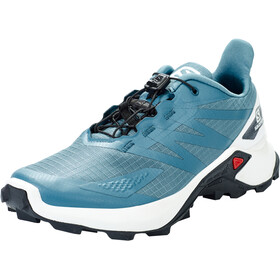 Salomon Supercross Blast Zapatillas Mujer, copen blue/white/ebony